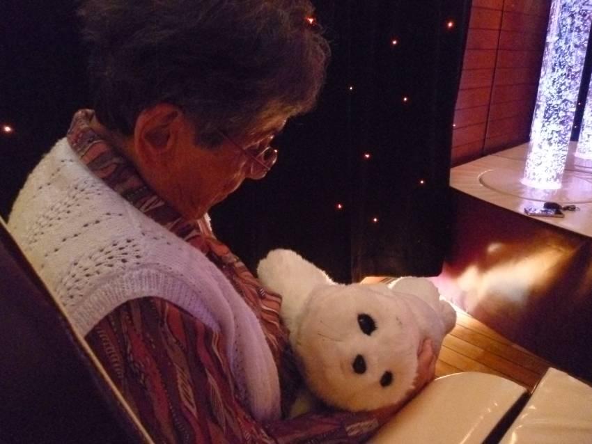 Maison de retraite : le phoque Paro comme outil thérapeutique