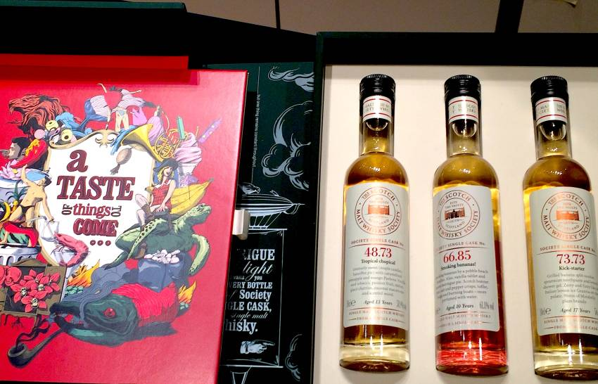 The Scotch Malt Whisky Society : le produit avant l'étiquette