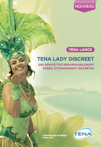 Tena Lady Discreet : des serviettes 20% plus fines