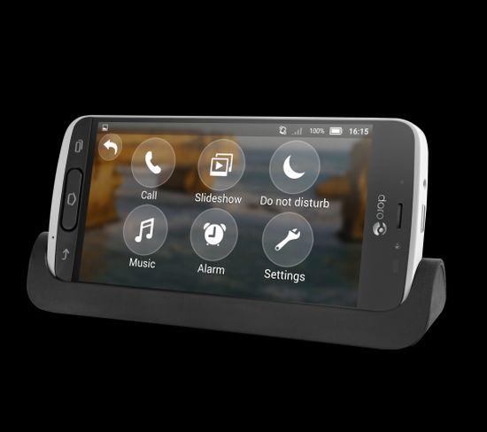 """Doro 8040 : un smartphone pour personnes âgées """"nouvelle génération"""""""