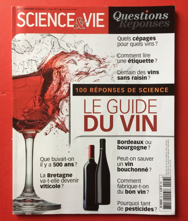 Science & Vie, Le guide du vin : simple et didactique