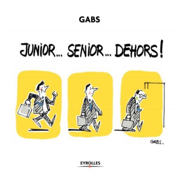 """""""Junior... Senior... Dehors"""" : la nouvelle BD de Gabs se fait intergénérationnelle"""