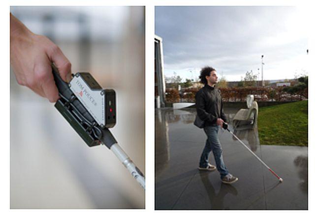 Tom Pouce : la canne blanche électronique pour les aveugles est française