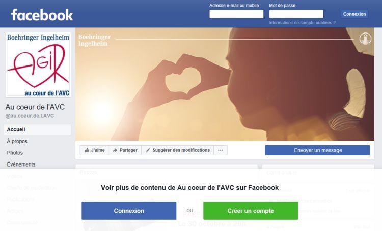30 octobre : 2ème Facebook live Spécial AVC