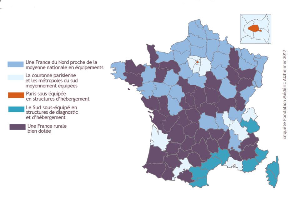 Alzheimer : le point sur la couverture nationale en dispositifs d'aide et d'hébergement