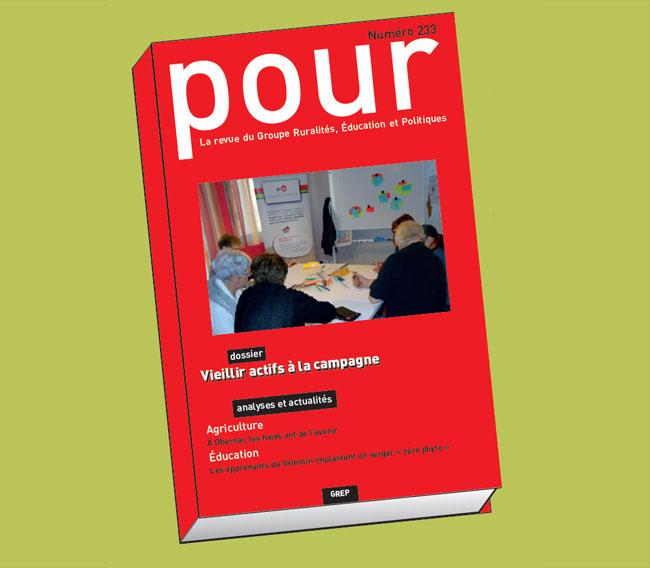 Vieillir actif à la campagne : nouveau numéro de la revue Pour