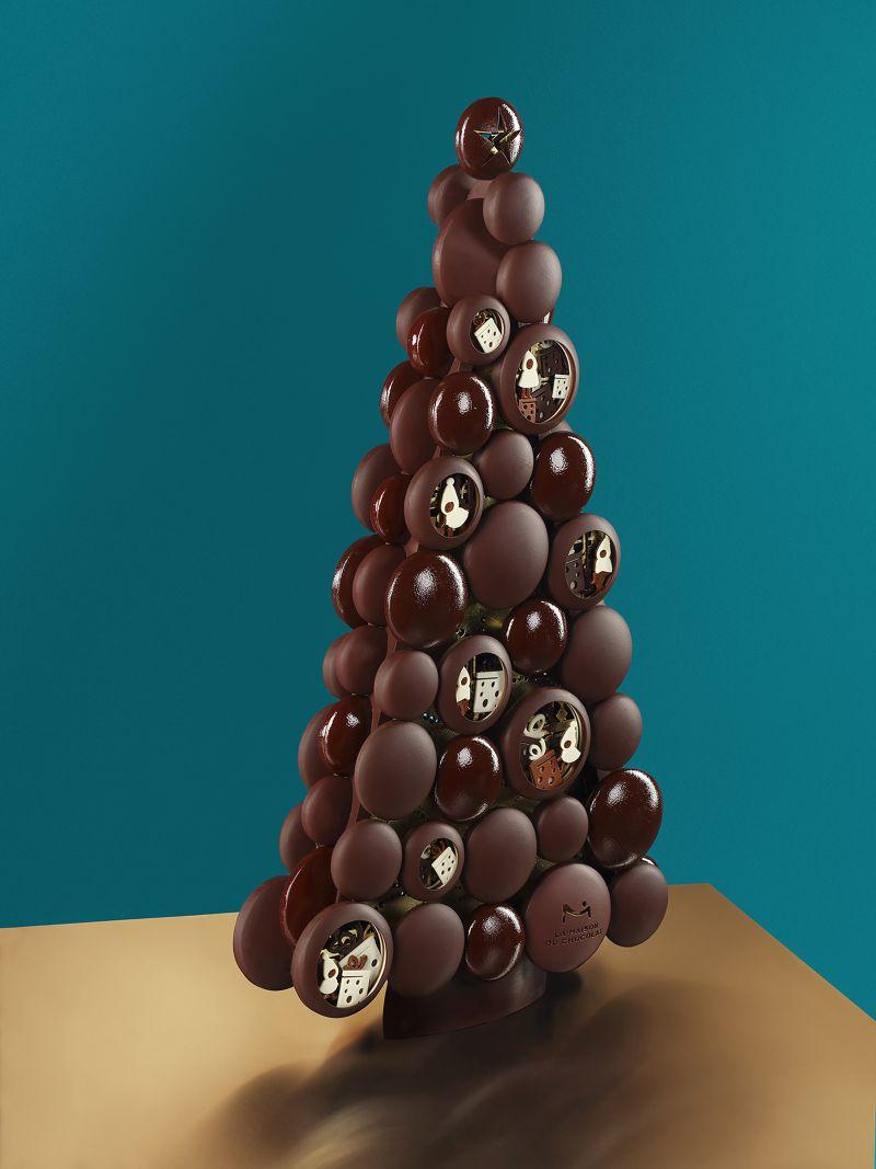 Maison du chocolat sapin