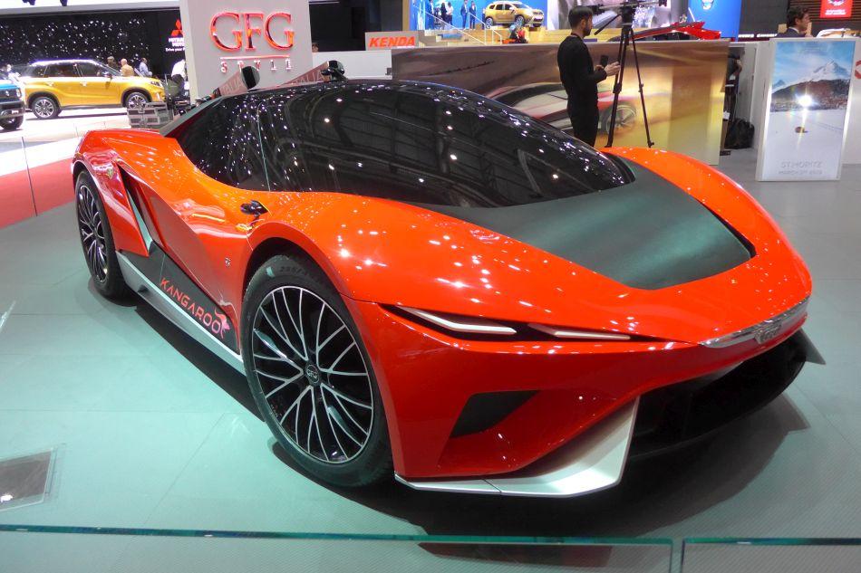 Concept Car electrique de Giugiaro