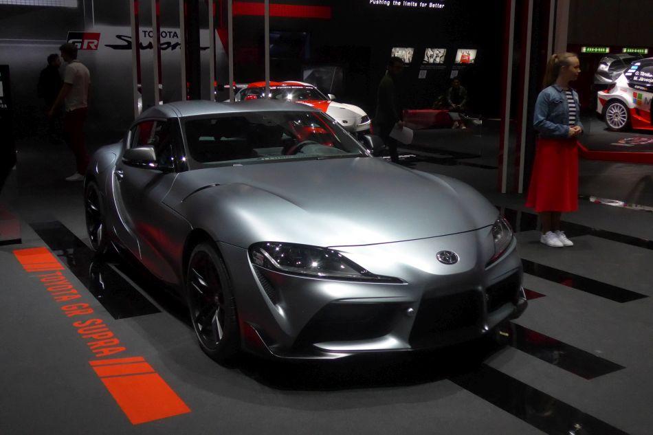 Toyota la nouvelle Supra. hybride