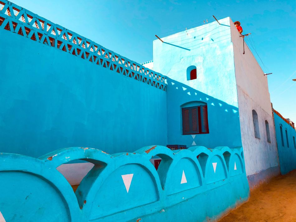 Nubian houses photo by Unsplash