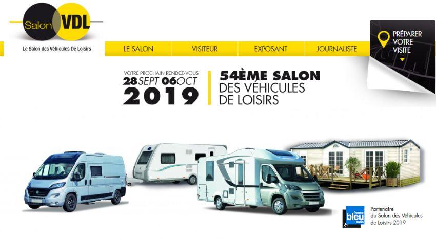 54ème Salon des véhicules de loisirs : tendance et nouveautés 2019