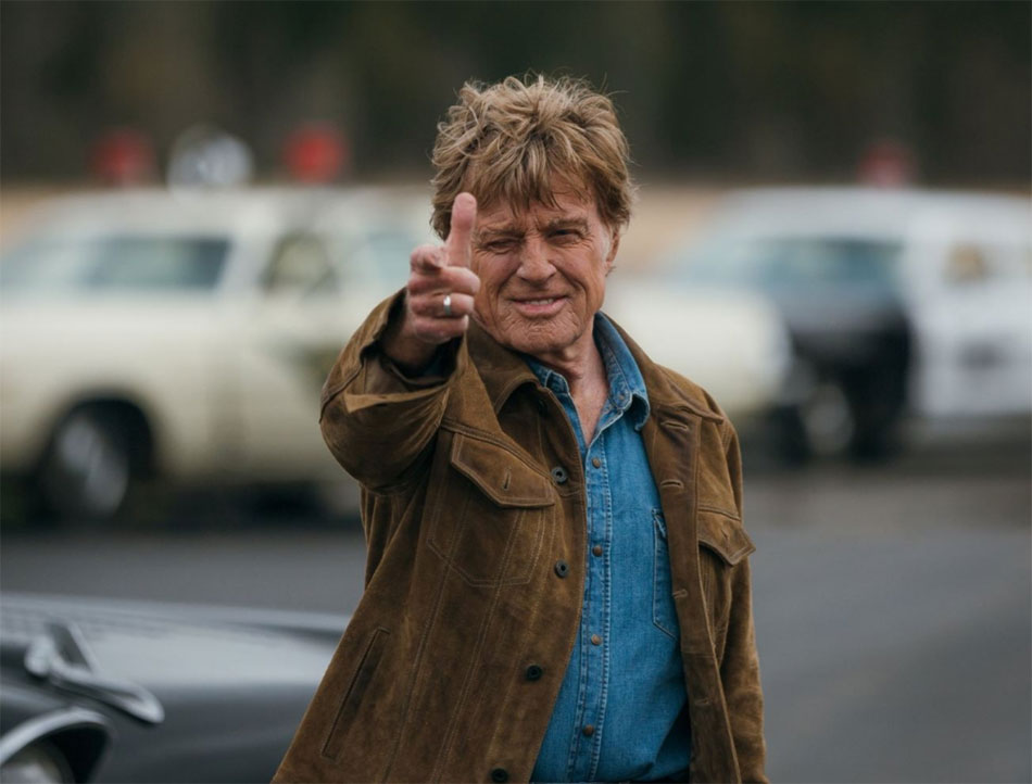 the old man and the gun, Robert Redford, DR