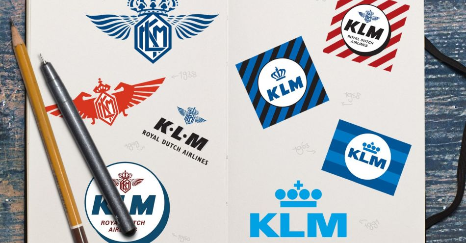 Logos KLM, Copyright KLM