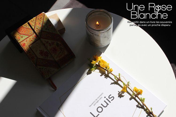 Une rose blanche ou comment rendre hommage à un proche défunt pendant le covid-19