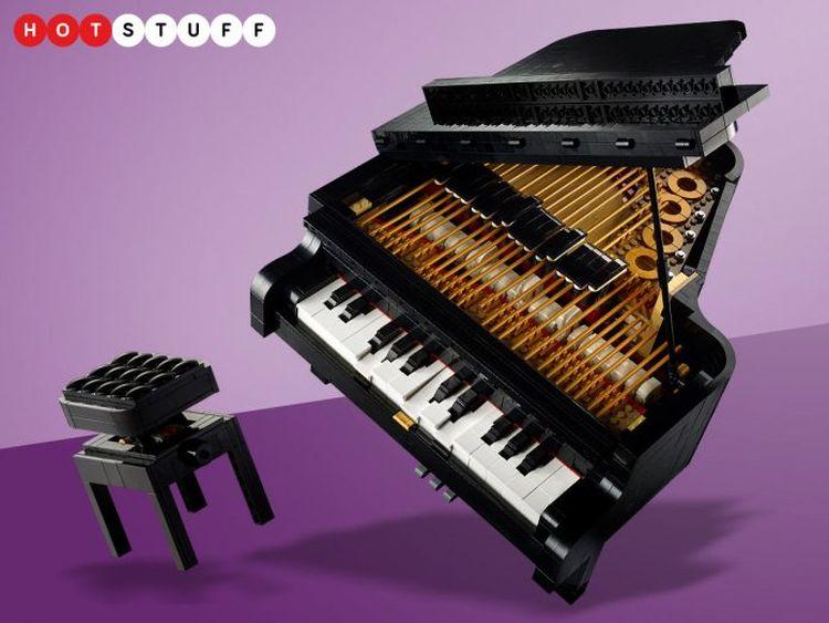 Le piano Lego qui joue de la vraie musique !
