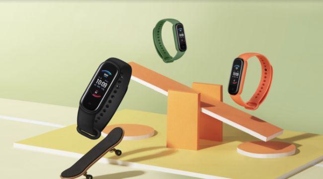 Amazfit Band 5 : quinze jours d'autonomie pour ce bracelet connecté