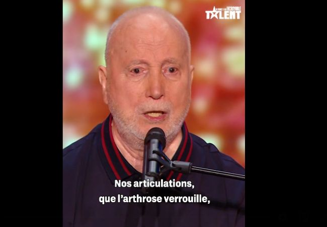 Crédit Screenshot : Bernard « Slow Périlleux » / La France a un Incroyable Talent / M6 / Facebook