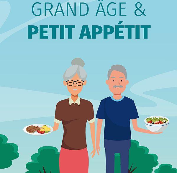 Grand âge et Petit appétit : un guide pratique pour prévenir la dénutrition des ainés