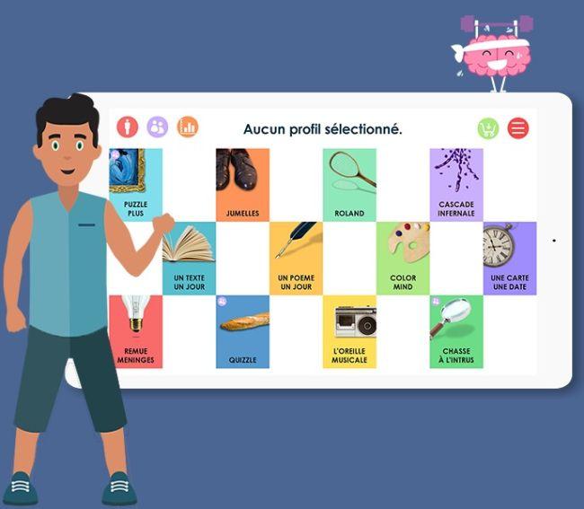 Joe by Dinseo : une app' comme coach d'entrainement cérébral