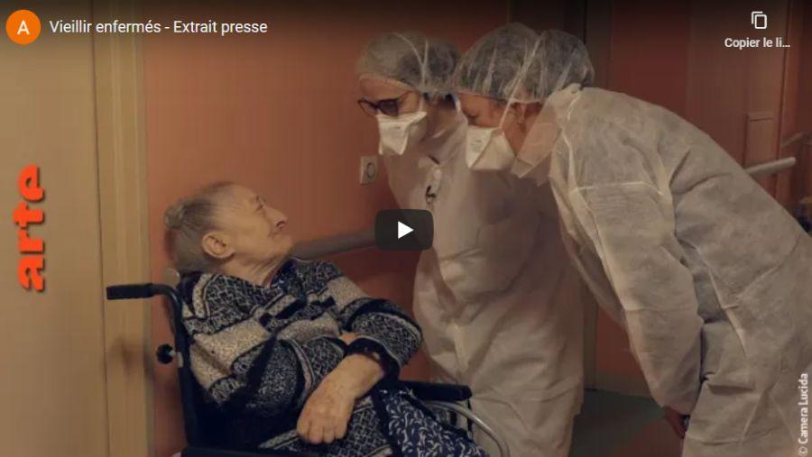 Arte : Vieillir enfermés, un documentaire poignant d'Eric Guéret