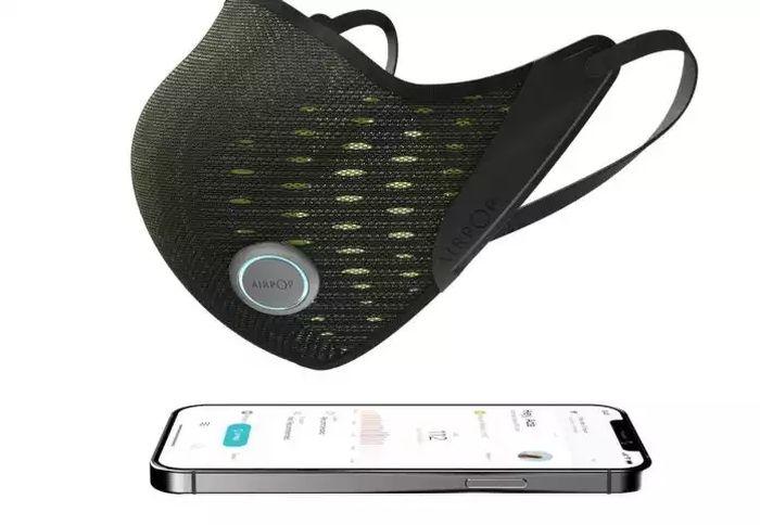 AirPop Active+, le premier masque intelligent au monde avec capteur Halo