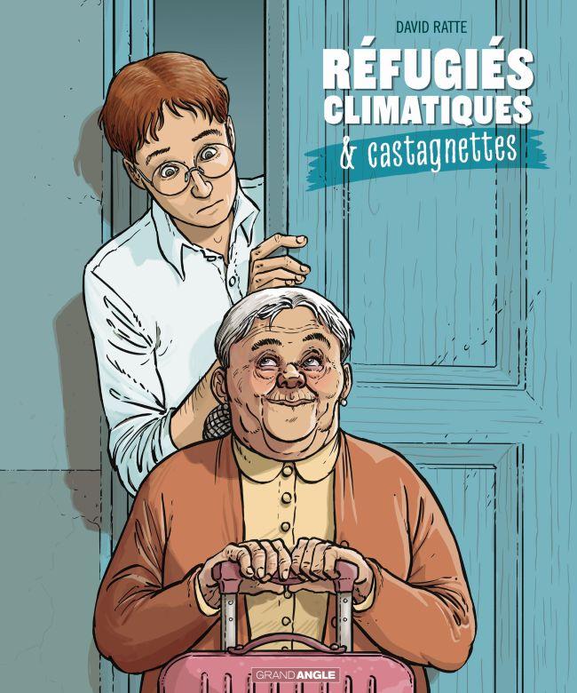 Réfugiés climatiques : quand le climat rend la cohabitation intergénérationnelle obligatoire (BD)