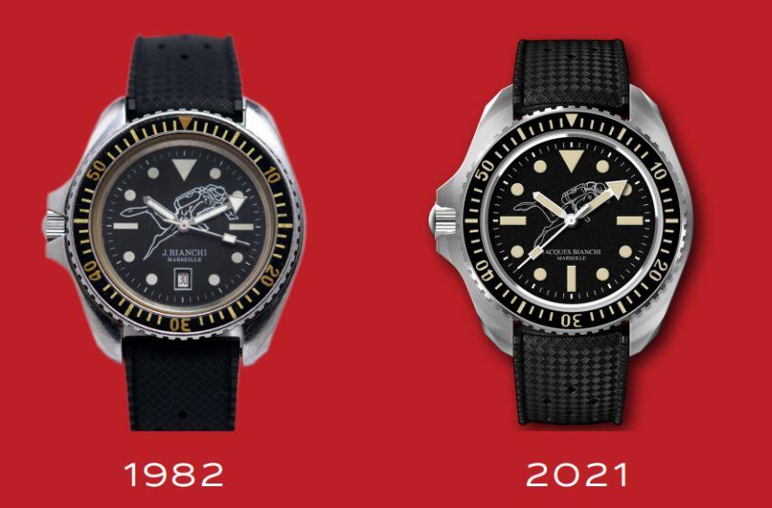 Jacques Bianchi : à 80 ans, il relance sa marque de montres de plongée