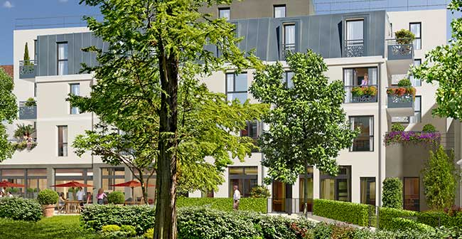 Cogedim Club : Le Jardin d'Aragon, ouverture de sa première résidence au cœur de Villejuif