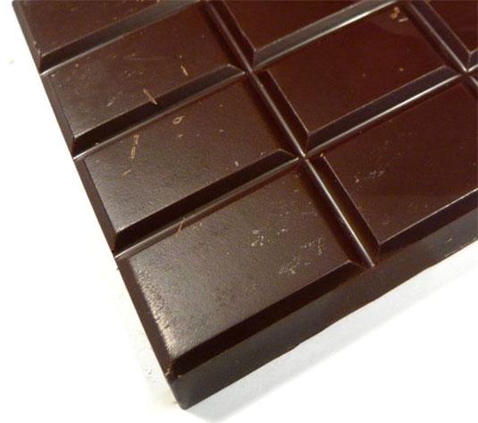 Mon cœur en chocolat… noir !