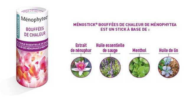 Ménostick : un stick pour lutter contre les bouffées de chaleur