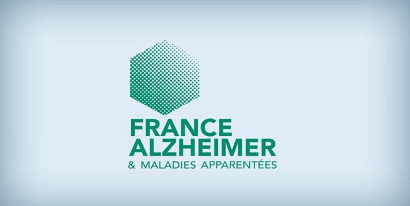 Le nouveau logo de France Alzheimer