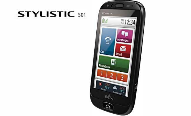 Fujitsu Stylistic S01 Un Nouveau Telephone Senior Arrive
