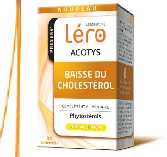 Léro Acotys : un complément alimentaire pour réduire le cholestérol