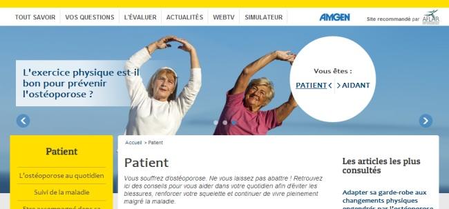 Ostéoporose : un tiers des Français ne connait pas cette maladie…