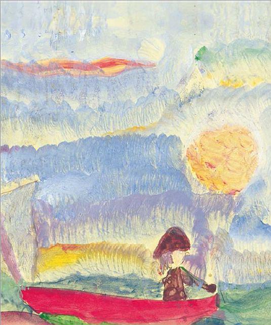 Les couleurs de l'oubli : Alzheimer et peintures… (livre)
