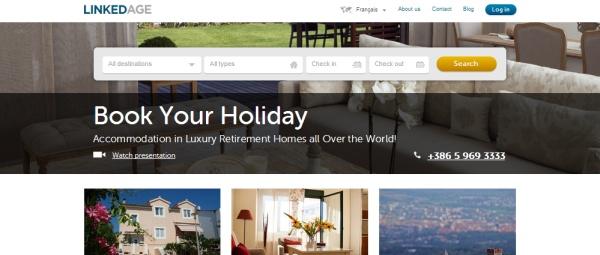Linkedage : personne âgée échange place en maison de retraite à l'étranger