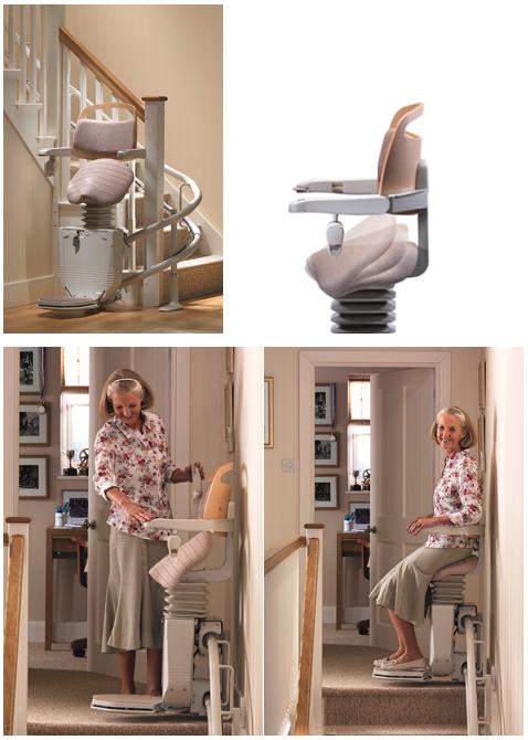 sadler le nouveau monte escaliers stannah. Black Bedroom Furniture Sets. Home Design Ideas