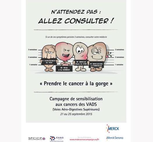 Prendre le cancer à la gorge : de l'importance d'un dépistage précoce...