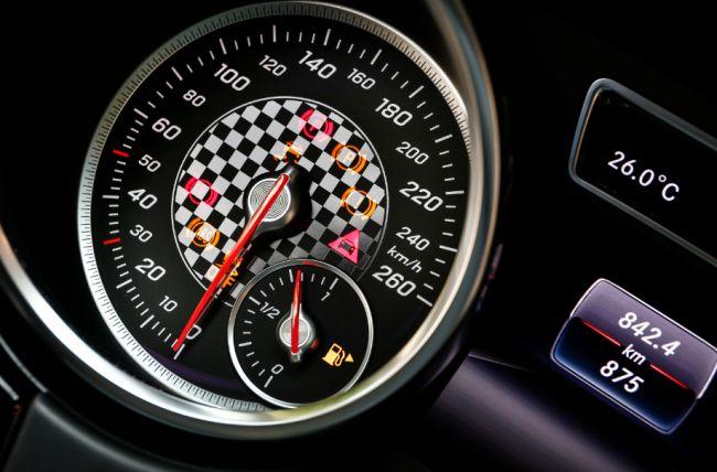 Compteur de vitesse du GLE coupé