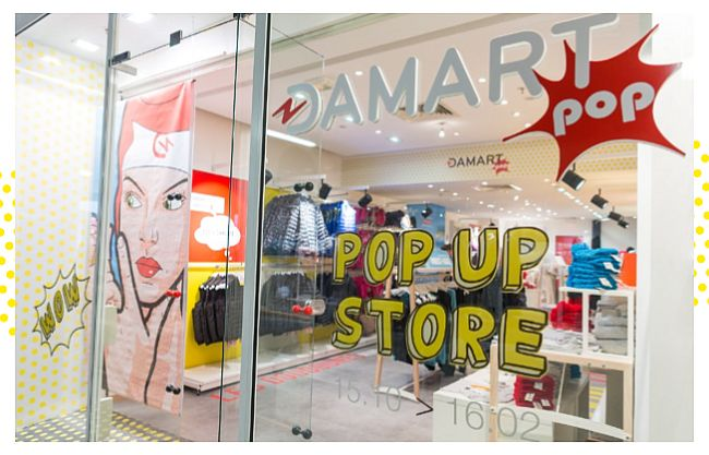 Damart : un pop-up store dédié au Thermolactyl à Parly 2