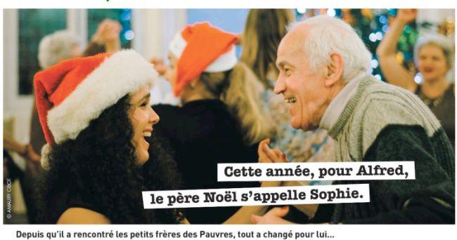 Noël 2015 : les petits frères des Pauvres à la recherche de bénévoles