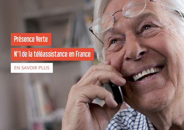 Présence Verte : deux nouvelles offres de téléassistance