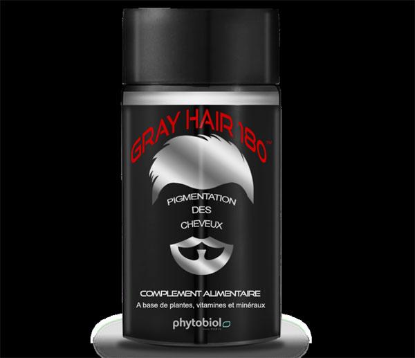 Gray Hair 180 : un complément alimentaire contre les cheveux blancs