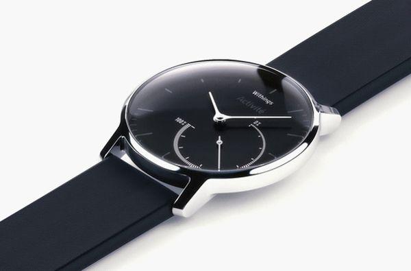 Whitings Activité Steel : la montre connectée pour garder la santé