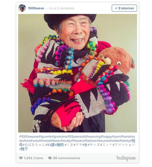 Japon : la petite-fille est créatrice et sa grand-mère est son mannequin