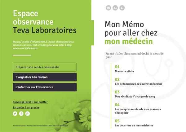 Espace Observance : un site pour un meilleur suivi des traitements