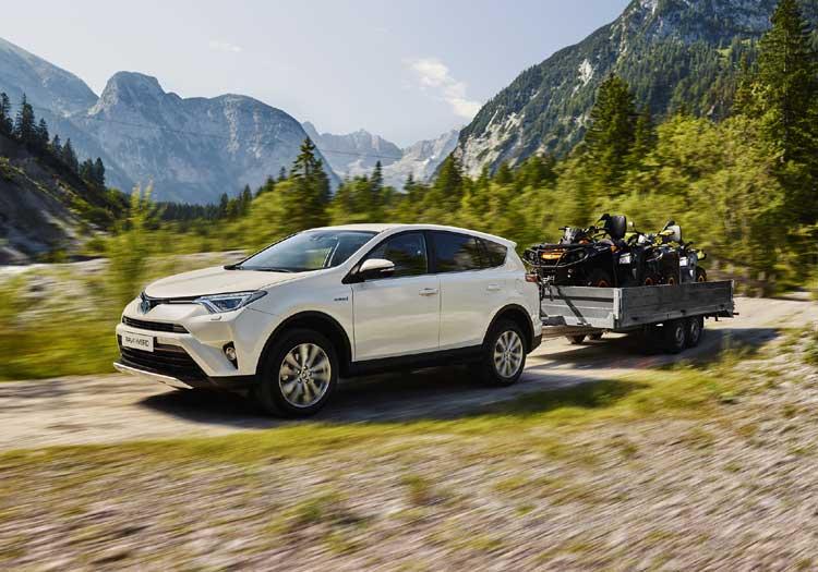 Toyota RAV4 Hybrid AWD: priorité au confort