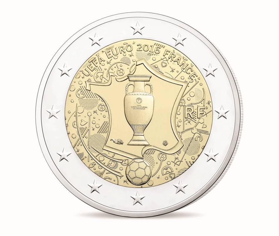 La Monnaie de Paris célèbre l'Euro 2016