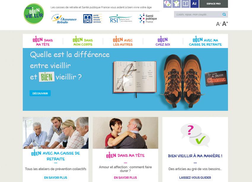 Pourbienvieillir.fr : nouveau site web pour répondre aux questions des seniors