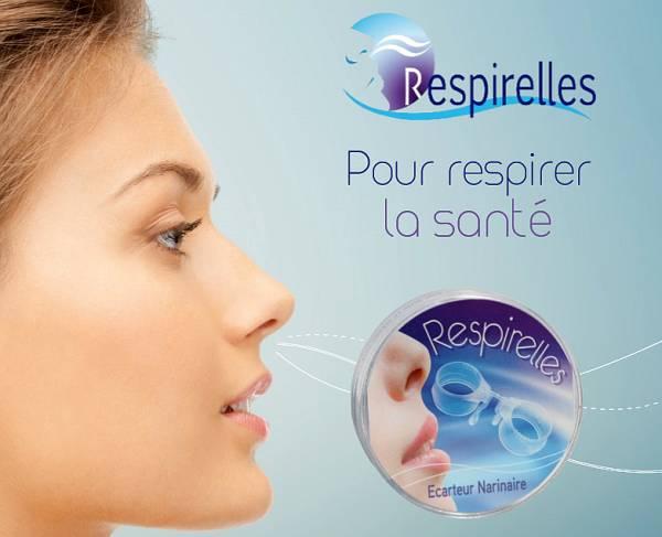 Respirelles : écarteur narinaire pour éviter les apnées du sommeil